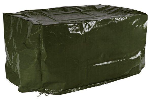 Gruby pokrowiec na meble 8-osobowe 130x210x90 cm - zielony