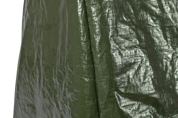 Huśtawka ogrodowa SANDRA JASNY BRĄZ w ZESTAWIE z pokrowcem