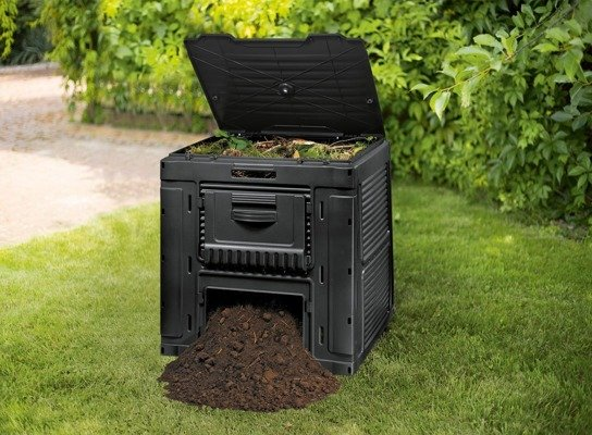 Kompostownik E-Composter KETER z podstawą 470L