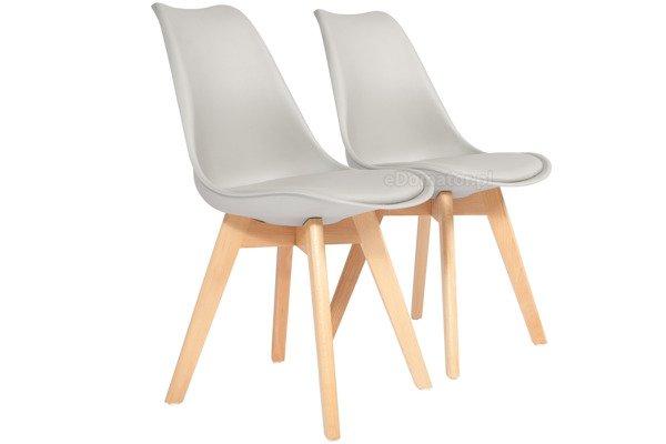 Krzesło do jadalni BOLONIA szare - 4 szt.