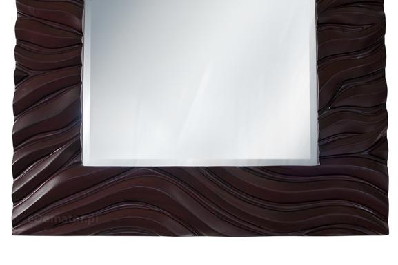 Lustro ozdobne GIOVANNI - ciemny brąz