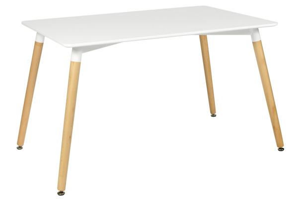 Nowoczesny biały stół MEDIOLAN 120x80