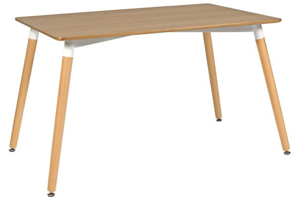 Nowoczesny brązowy stół MEDIOLAN 120x80