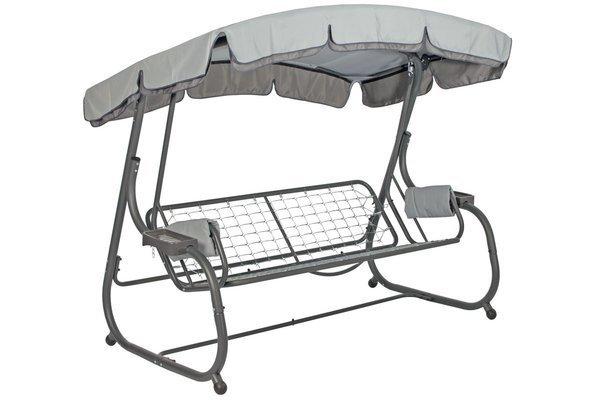 OUTLET - Stelaż huśtawki ogrodowej BLANCA - szary