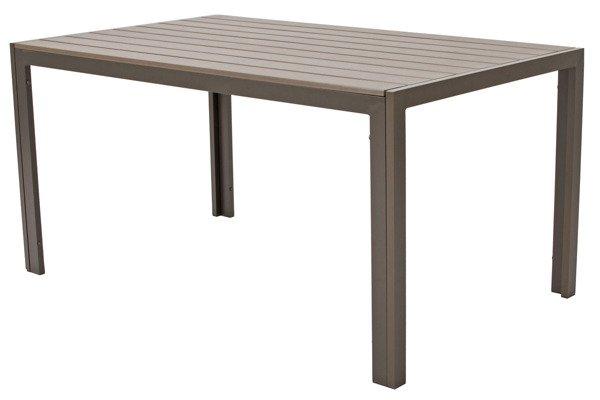 OUTLET - Stół ogrodowy MODENA  - brązowy