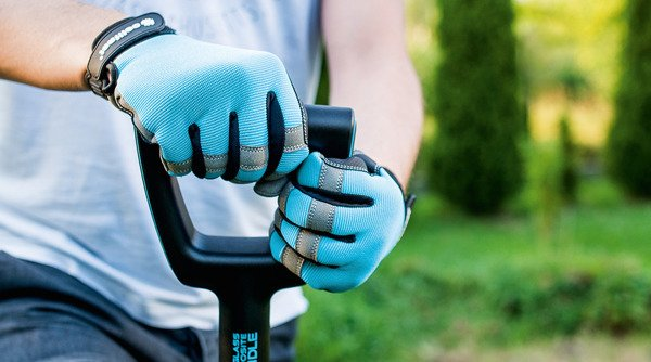 Rękawice narzędziowe rozmiar 8/M ERGO - niebieskie