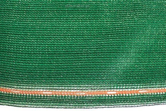 Siatka cieniująca 1,5x25m 90% 135g/m2  UV Zielona