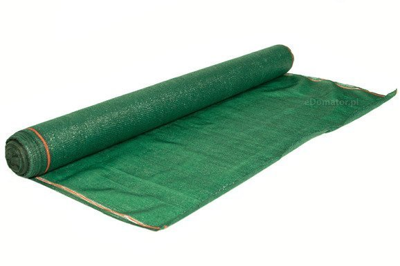 Siatka cieniująca 2,0x50m 60 g/m2 55% UV Zielona