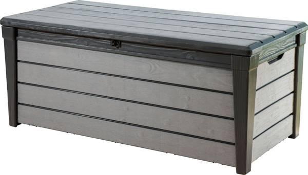Skrzynia ogrodowa BRUSHWOOD 455 L - grafit