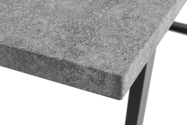 Stół do jadalni 180 x 90 BALTIMORE - szary kamień