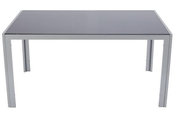 Stół ogrodowy aluminiowy WENECJA - srebrny