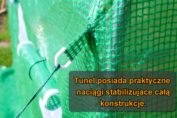 WYPRZEDAŻ! - Folia do tunelu - 12 m2