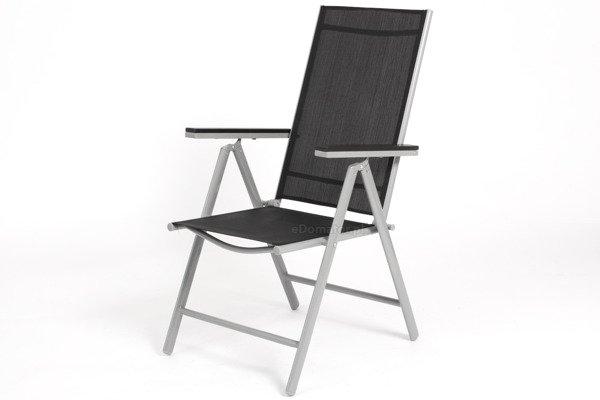 WYPRZEDAŻ - Krzesło ogrodowe MODENA - Czarne
