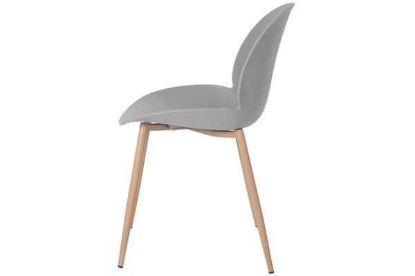 Wygodne krzesło do jadalni GALA - szare