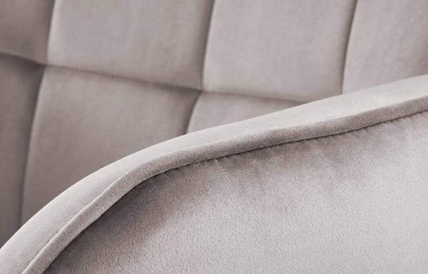 Wypoczynkowy fotel LOFT CASTEL - szary