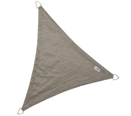 Żagiel przeciwsłoneczny COOLFIT trójkąt 5,0 x 5,0 x 5,0 m - Antracyt